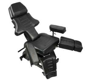 NEW Patented Electric InkBed Client Massage Bed Chair Table with Built in Power Strip
